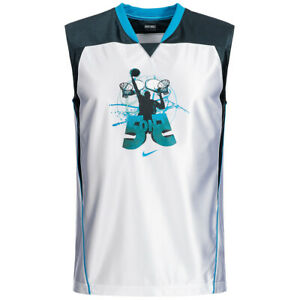 Nike Basketball Game Kinder Trikot Basketballtrikot 332448-100 Gr. 152-158 neu