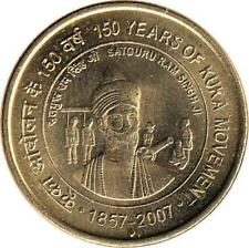 """Indien 5 Rupees 2007 """"150 Years of Kuka Movement"""""""