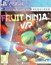Sony PS4 Playstation 4 Spiel ***** VR Fruit Ninja ***********************NEU*NEW