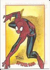 Spider-Man Archives 2009 SPIDERMAN sketch card hand drawn Thony SILLAS Marvel