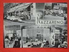 ROMA da Nazzareno Via Magenta Ristorante LAMBRETTA vecchia cartolina