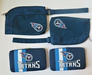 FOUR-PIECE (4) TENNESSEE TITANS, CLOSEOUTS FROM LITTLE EARTH WITH FREE SHIPPING