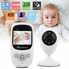 "2.4""LCD Wirless Digital Video Baby Monitor Camera Night Vision Audio 2.4GHZ UK"