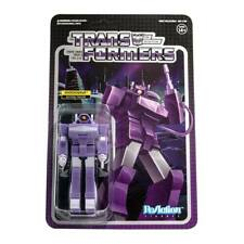 Transformers Shockwave Decepticons 3 3/4 Inch ReAction Wave 2 Figur Super7