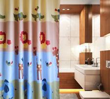 Tier Muster Duschvorhang Badewannenvorhang Bad Dusche Vorhang Dekoration Hotel