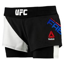 "Reebok UFC OCTAGON Short Women's Training Shorts MMA Workout Pants 32"""