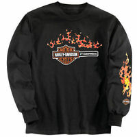 NEW JOINT FORD MOTOR COMPANY HARLEY-DAVIDSON SIZE MEDIUM LONG SLEEVE SHIRT!