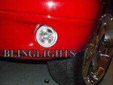 White Fog Lamp Angel Eye Driving Halo Lights & Harness 1997-2004 Dodge Dakota