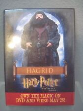 Harry Potter and the Sorcerers Stone with Hagrid official movie Pin Back Button