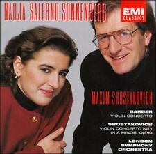 Barber: Violin Concerto; Shostakovich: Violin Concerto No. 1 Salerno-Sonnenberg