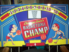 Basketball Champ By Chicago Coin Backglass. Shipping is available