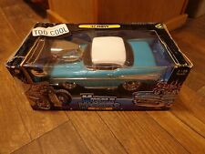 1/18 SCALE--MUSCLE MACHINES--TEAL '57 CHEVY CAR (LOOK)TOO COOL CALIFORNIA SERIES