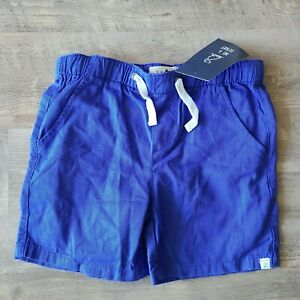 NWT Me & Henry Blue 100% Cotton Drawstring Casual Shorts Size 9/10