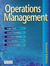Operations Management, Slack, Prof Nigel, Chambers, Dr Stuart, Harland, Dr Chris