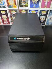 Black Vintage Nintendo 64 Game Storage Case 12 Cartridge Holder N64 Box Shelf