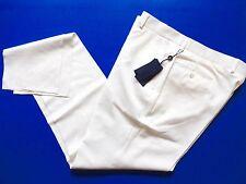 New Ralph Lauren Polo Italy 100% Wool White Dress Pants slim 40
