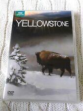 YELLOWSTONE - BBC EARTH – DVD, REGION: 2+4, LIKE NEW, FREE POST IN AUSTRALIA