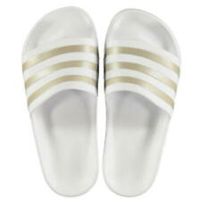 Ladies Girls Adidas Sliders Sandals Shoes Slip Ons Sports Beach Pool Flip  Flop b35a8685b