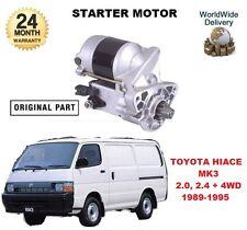 für Toyota Hiace MK3 2.0 2.4 i 1989-1995 NEU Original Anlasser