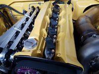 NISSAN RB26 2000hp BILLET short version  R35GTR  COIL KIT  R32GTR plugin  loom