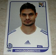 FIGURINA CALCIATORI PANINI SOUTH AFRICA 2010 GRECIA CHARISTEAS ALBUM MONDIALI
