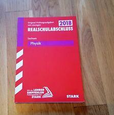 Abschlussprüfung Oberschule Sachsen - Physik Realsc...  Buch  Zustand sehr gut
