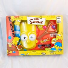 Bart Simpson Action Set The Simpsons Role Play Mask Slingshot Sealed 2000 MISB