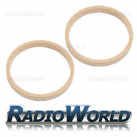 "8"" 200mm MDF Speaker Spacer Mounting Rings 22mm Thick ID 182mm ED 202mm Pair"