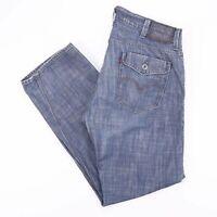 Vintage LEVI'S 514 Slim Straight Fit Men's Blue Jeans W38 L32