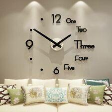 Huge Original Wall Clock Modern Home Design Decoration DIY Living Room Kitchen