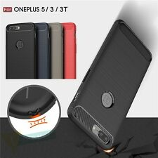 Slim Shockproof Rubber Rugged Silicone Matte Back Case Cover For OnePlus 5 3 3T