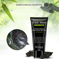 Blackhead Remover Deep Cleaning Moisturizing Peel Off Mask Cream Bamboo Charcoal