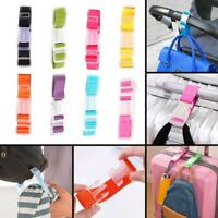 Adjustable Straps Luggage Tie Down Belt for Luggage Travel Buckle Lock Suitcase