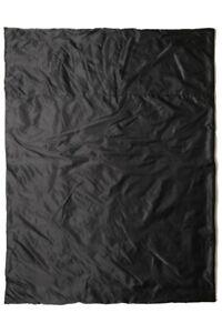 Free post Snugpak Insulated Travel Jungle Blanket, Black Quilt Duvet Compact