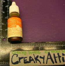 STAMPIN UP ONLY ORANGE INK BOTTLE DYE WATERBASED STAMPS CREAKYATTIC