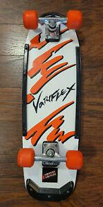 Vintage Variflex of California 80s Skateboard Complete 1988 Team Splash Orange