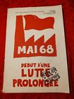 Mai 68 Texts And Posters By Atelier Populaire - Posters From The Revolution