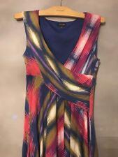 Phase Eight Lovely Stripe Print Dress - Size 12