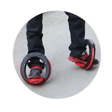 Black Orbit-wheel Boardless Skateboard Skatecycle Rollers Adjustable for Adult