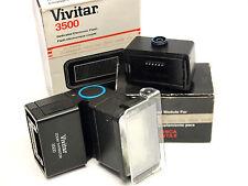 Vivitar zoom Tiristore 3500 FLASH con Yashica / Contax modulo stock no. u3009