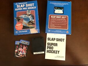 Slap Shot Super Pro Hockey for Intellivision - new box