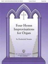 Four Hymn Improvisations for Organ Volume I Sheet Music Organ Solo Org 008745674