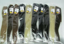 "Wholesale 16""20""24""28"" Ponytail clip-on Remy Human Hair Extensions 80g 100g 120g"