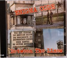 Enigma Code - Between the Lines (CD 2006) (Metal/ Punk)