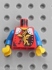 Buste chevalier LEGO Castle Minifig Torso 973px207 / set 6076 1906 6078 6079 ...