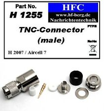 1 Pezzo Connettore TNC per H 2007/Aircell 7/Highflexx 7 Cavo coassiale 50 Ω
