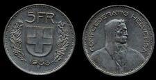 SWITZERLAND 5 Francs 1953 VF