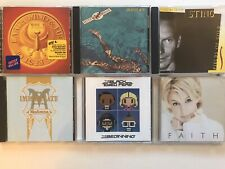 Lot 6 Cd Classic Rock , Pop - Sting - Madonna - Black Eyed Peas - Faith Hill
