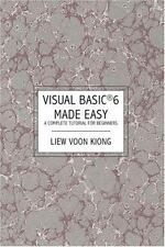 Visual Basic   6  Made Easy: A Complete Tutorial for Beginners