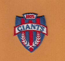 OLD NFL NEW YORK N Y GIANTS SHIELD LOGO PATCH UNUSED Unsold Stock